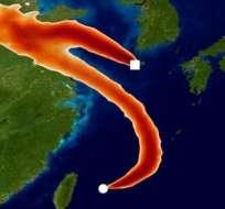 Estaciones de monitoreo en Corea del Sur y Japón fueron clave.