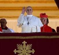 El Papa Francisco fue elegido en 2013.