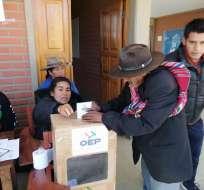 Foto: Tribunal Supremo Electoral de Bolivia