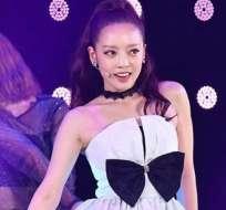 Estrella del K-Pop rescatada tras un intento de suicidio. Foto: IG
