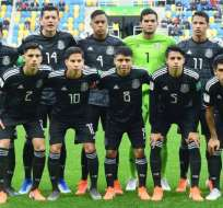 Jugadores de la selección mexicana de fútbol sub 20.
