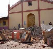 La madrugada del 26 de mayo un potente movimiento telúrico ocurrió en Perú. Foto: API