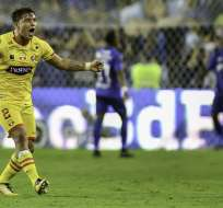 El lateral ecuatoriano no fue a la Copa América por su lesión en el brazo. Foto: API/Archivo