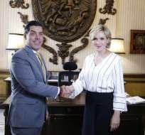 Se comprometieron a participar de los eventos a los que convoque cada una de las entidades. Foto: Gobernación Guayas