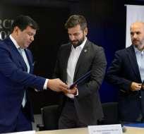 GUAYAQUIL, Ecuador.- Presidente de la Asamblea definirá el tratamiento cuando el Ejecutivo remita propuesta. Foto: API
