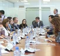 Espinosa compareció ante comisiones de Salud y de Fiscalización. Foto: Twitter Asamblea