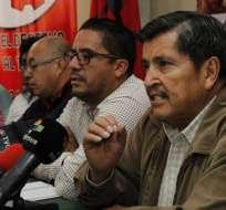FUT anuncia movilización nacional para el 6 de junio. Foto: API