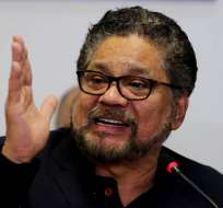 COLOMBIA.- En caso de ser expulsado, Iván Márquez deberá enfrentarse a la justicia ordinaria. Foto: Archivo