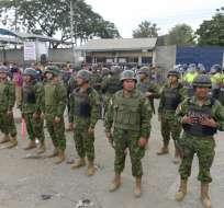 GUAYAQUIL, Ecuador.- Según información preliminar, el hecho ocurrió en dos pabellones de la Penitenciaría. Foto: API
