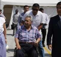 DAULE, Ecuador.- El mandatario se enteró de la detención de Mera y Duarte en un evento por el Día de la Niñez. Foto: Twitter