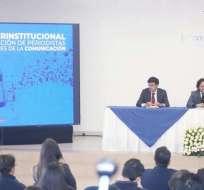 Instalación impulsada por el Ejecutivo comenzó diálogo para proteger a comunicadores. Foto: Secretaría Comunicación