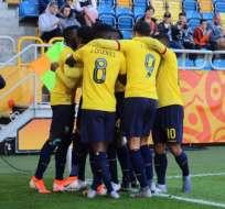 La 'Tricolor' pasa a la siguiente ronda como uno de los mejores terceros del torneo. Foto: Tomada de @FEFecuador