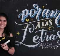 En 2012 el arte de la escritura recobró su popularidad gracias a las redes sociales. Foto: Franklin Navarro