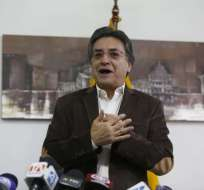 Salida de Ernesto Pazmiño se da en plena crisis penitenciaria del país. Foto: API
