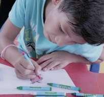 Más de 70 stands para aprender y divertirse en la Feria del Niño. Foto: Ecuavisa.com