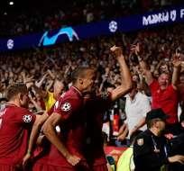 Los 'Reds' vencieron 2-0 al Tottenham en Madrid. Foto: AFP