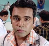 Jagdish Chaturvedi combina su profesión médica con la innovación tecnológica. Foto: JAGDISH CHATURVEDI