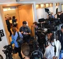 Suecia decide este lunes extradición de Assange. Foto: AFP