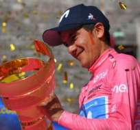 Richard Carapaz, ganador del Giro de Italia.