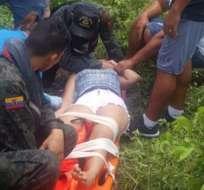 Este hecho ocurrió en el cantón San Cristóbal el pasado 9 de marzo. Foto: ECU 911
