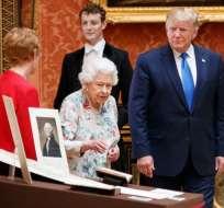 Esta es la primera visita de Estado de Trump a Reino Unido. Foto: AFP