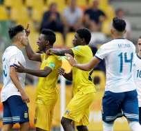 Partido entre Argentina y Malí jugador este martes.