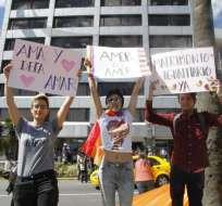 La CIDH emitió una opinión favorable para que Ecuador apruebe el matrimonio igualitario. Foto: API
