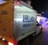 El cuerpo fue llevado a Guayaquil para las pericias
