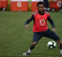 Rogério Caboclo aseguró que tienen confianza en el delantero de la selección brasileña. Foto: MAURO PIMENTEL / AFP
