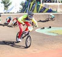 Valentina Dávalos, ciclista de BMX.