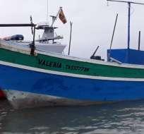 Los pescadores no tenían documentación de las embarcaciones.