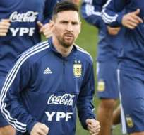 El argentino busca ganar la Copa América con Argentina.