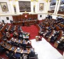 PERÚ.- Diputados analizan moción de confianza del Ejecutivo, que plantea reformas anticorrupción. Foto: Twitter