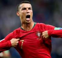 Cristiano Ronaldo, figura portugués.