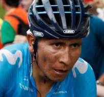 Nairo Quintana, figura de Movistar Team.