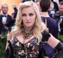 Madonna celebró sus 60 años en agosto de 2018. Foto: AP