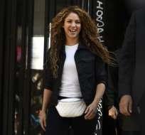 Ni Shakira ni su abogado hablaron en público. Foto: AFP
