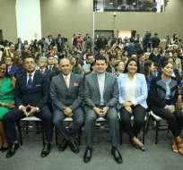 ECUADOR.- Queda pendiente la posesión de los nuevos funcionarios en la Asamblea Nacional.. Foto: CNE