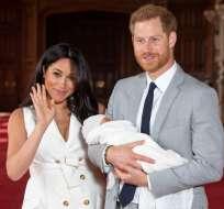 El hijo de los duques de Sussex nació el 6 de mayo. Foto: AFP