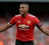 Antonio Valencia, excapitán del Manchester United.