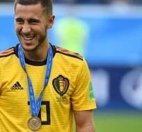 Eden Hazard volante belga.