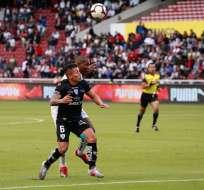 El lateral de Independiente del Valle podría ir a Liga de Quito. Foto: API