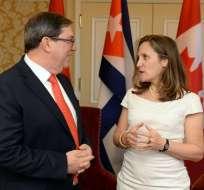 Así lo dijo este viernes la  ministra canadiense de Relaciones Exteriores. Foto: Twitter