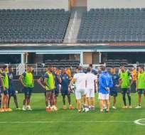 La selección ecuatoriana jugará su último amistoso frente a la Copa América. Foto: Tomada de @FEFecuador