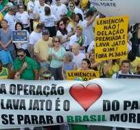 BRASIL.- La operación Lava Jato, lanzada en 2014, sentó en el banquillo a centenas de políticos. Foto: Archivo