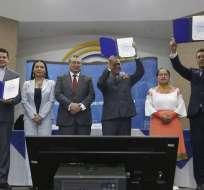 Así lo indicó el presidente del Legislativo, César Litardo. Foto: Archivo API