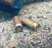En el sitio encontraron cerca de 30 restos de balas. Foto: Pixabay (referencial)