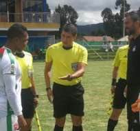 El equipo 'millonario' jugó dos partidos ante el elenco de Boyacá. Foto: Tomada de @CSEmelec