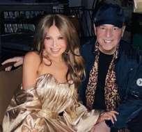 Tommy Mottola compartió una sensual foto de Thalía. Foto: IG