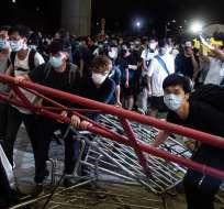 Hong Kong ha sido escenario de considerables disturbios políticos en la última década.Foto: AFP
